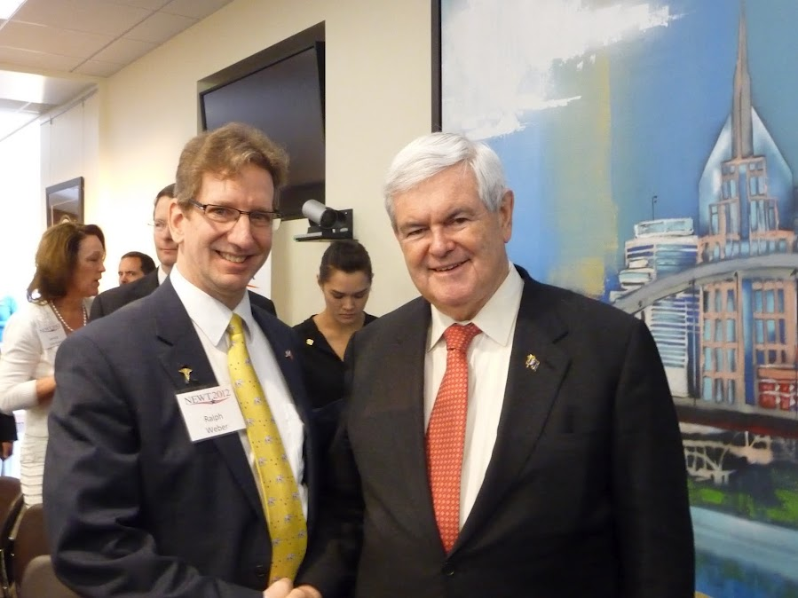 Ralph Weber & Newt Gingrich - Health Care Roundtable